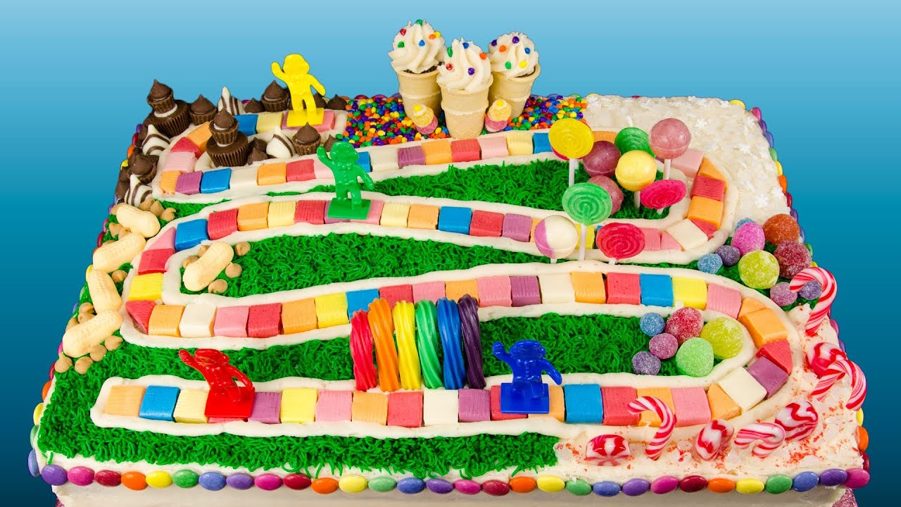 How to Make a Candyland Cake from Cookies Cupcakes and ...