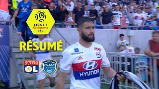 Olympique Lyonnais - ESTAC Troyes ( 3-0 ) - Résumé - (OL - ESTAC) / 2017-18