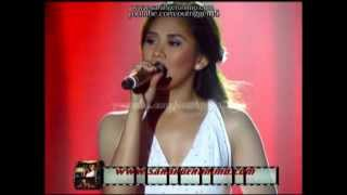 Sarah Geronimo - How Could An Angel Break My Heart by Toni Braxton [Statement Song] OFFCAM (09Sep12)