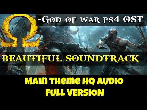 God of war ps4 OST- Main Theme FULL (HQ Audio)