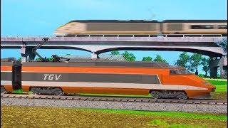 High Speed Rail in America: Model Train Edition!
