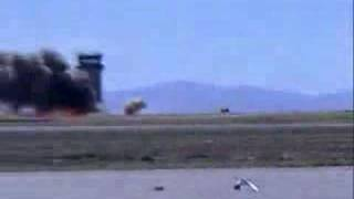 Fighter jet crash