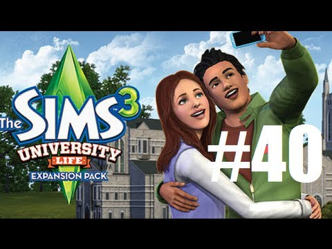 Let's Play - The Sims 3 University Life (Part 40) Chocolate Wasted