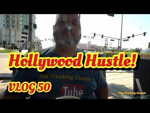 Hollywood Hustle ! Exploring downtown Hollywood, FL vlog 50