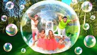 История про то как Майя и Софья сделали мыльный пузырь