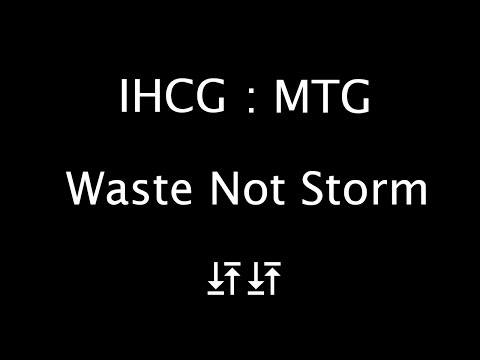 I Hate Card Games - Waste Not Storm