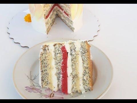 """Вкуснейший торт """"Лика"""" - вкус ЛИмон клубниКА"""