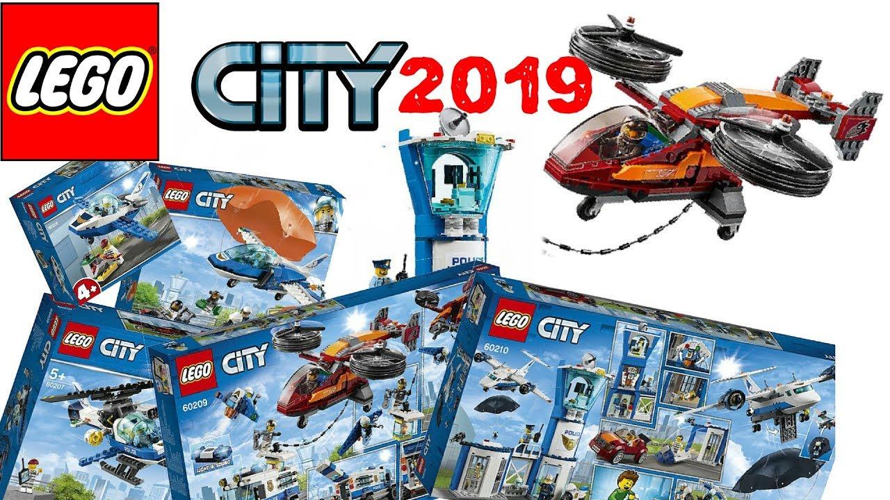 Lego City Police Station 2019