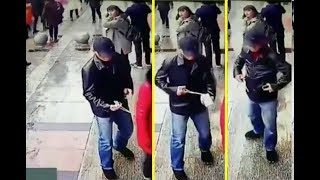 China / Thieves use tweezers to steal the phone / KRIMINÁLIS