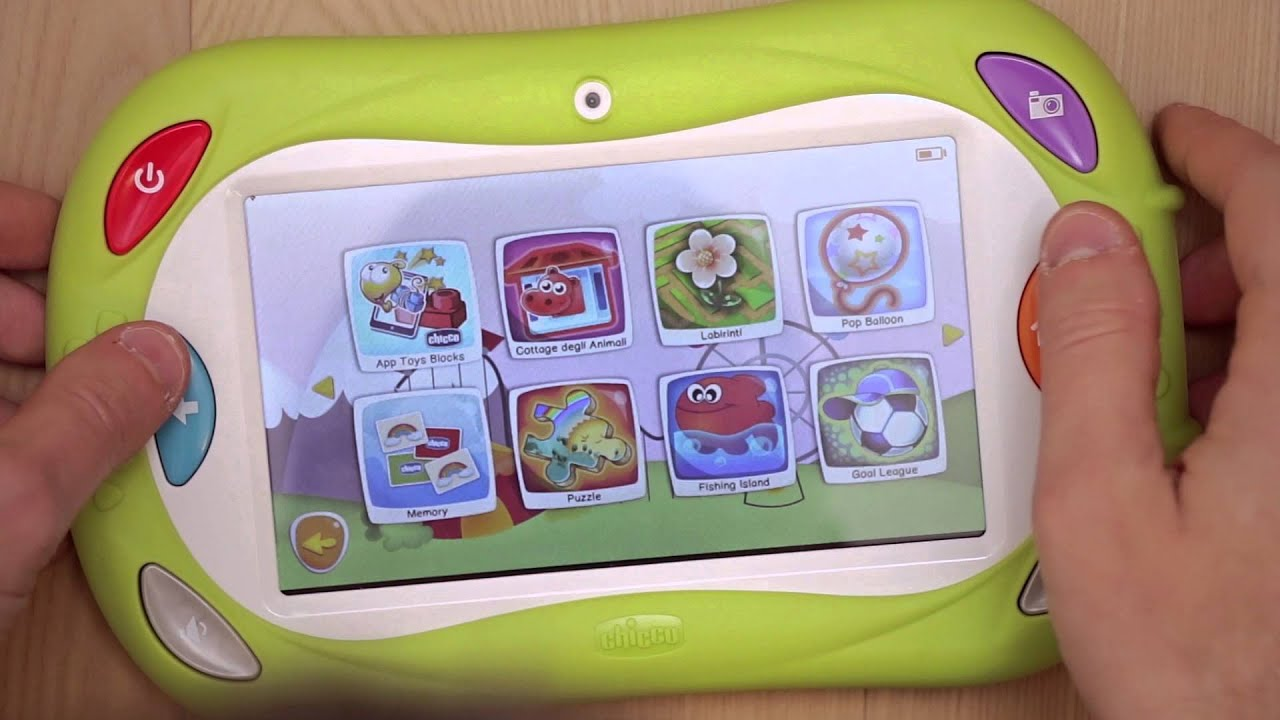 app tablet chicco