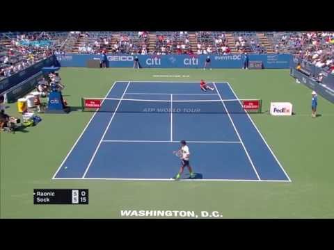 Jack Sock HOT SHOT