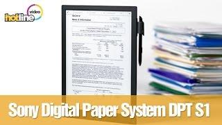 Обзор Sony Digital Paper System (DPT-S1): 13,3-дюймовый E Ink ридер за тысячу долларов