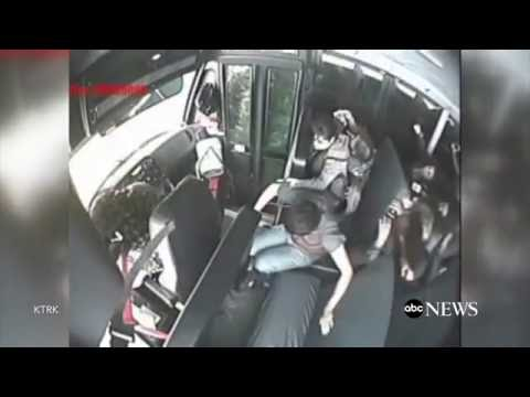School Bus Crash Video