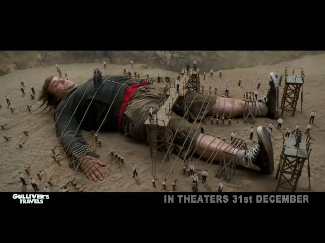 Gullivers Travels Hindi Trailer Exclusive | HQ