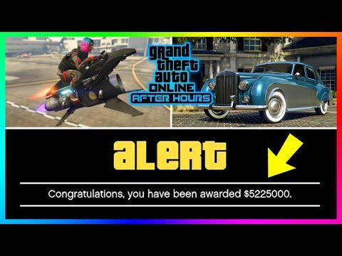 FREE GTA Online Money Is Here For GTA Online After Hours DLC - NEW Vehicle Info & MORE! (GTA 5 DLC)