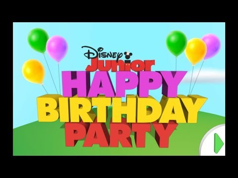 Disney Junior Happy Birthday DISNEY JR. GAMEPLAY