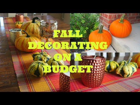 How to Decorate For Fall On a BUDGET | Tips & Fall Decor Home Tour