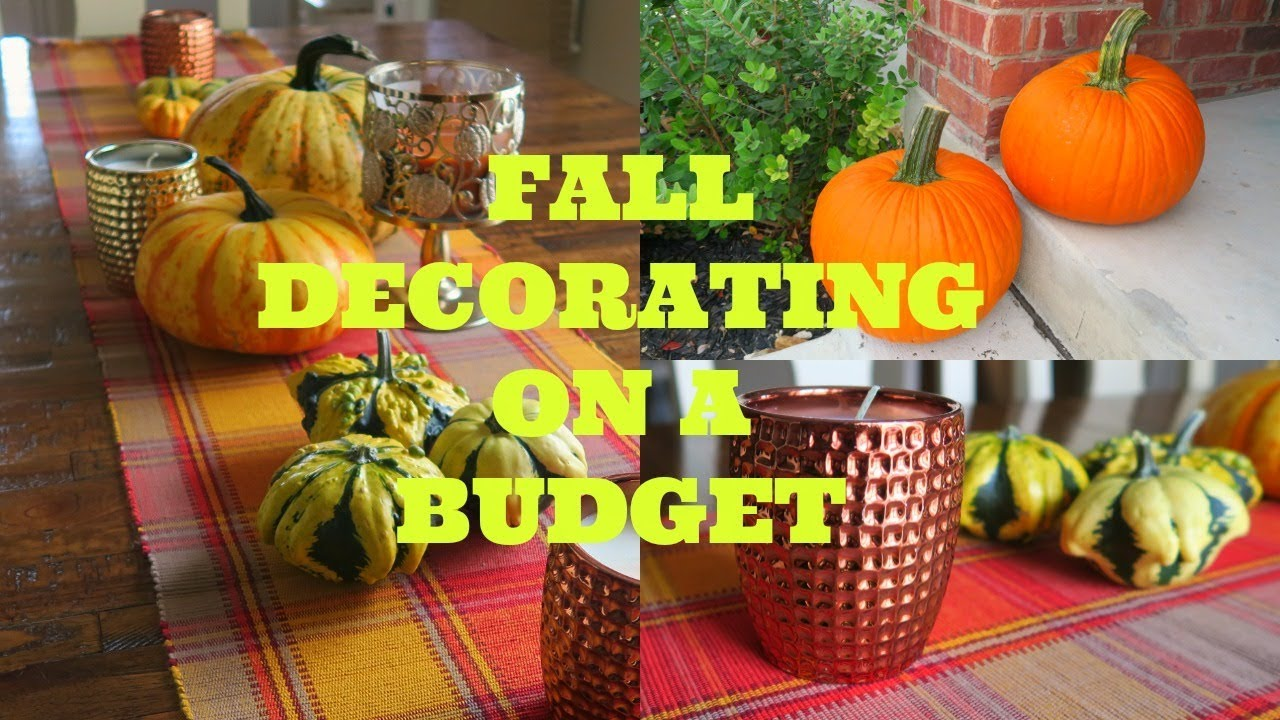 how to decorate for fall on a budget tips u0026 fall decor home tour