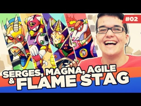 SERGES, MAGNA, AGILE & FLAME STAG | MMX2 #02 - Mega Guia S02E02  - Rik