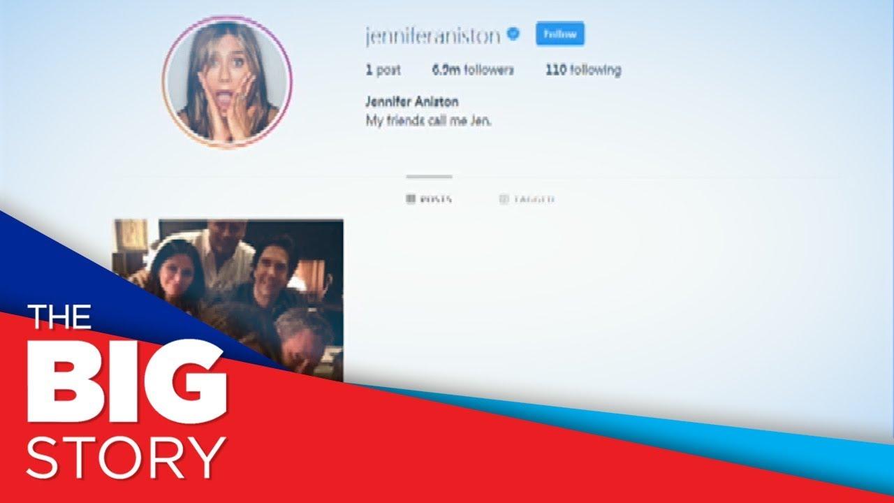 Jennifer Aniston broke Instagram with her debut