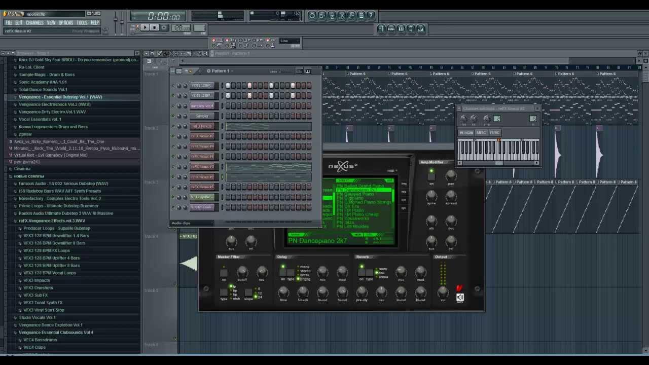 Скачать синтезатор для fl studio 10 nexus