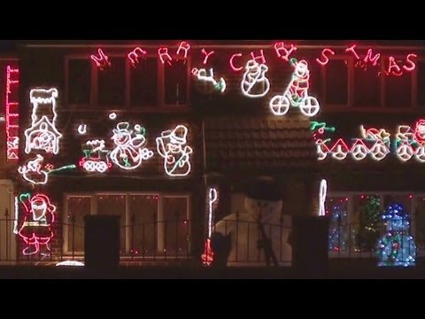 Christmas Lights on peoples houses in Derby, UK December 2011. Is your house featured?