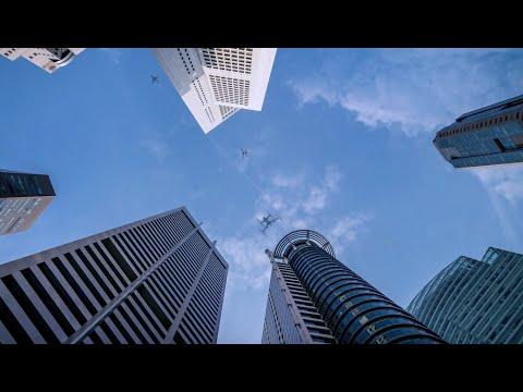 Meet EmbraerX's Urban Air Traffic Management Concept Video (UATM)