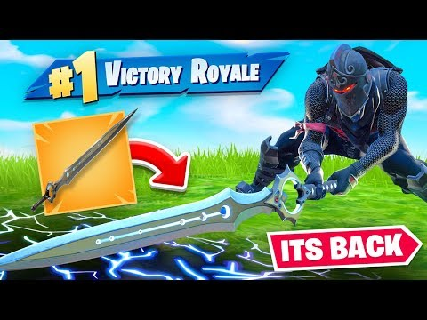 The INFINITY BLADE is BACK! (still op)