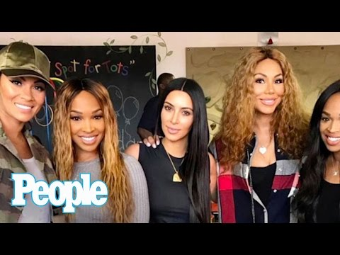 Tamar Braxton On Hanging Out With Kim Kardashian West & Her New Music | People NOW | People