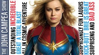 First Captain Marvel Review Reactions Are In And They're Fantastic - The John Campea Show