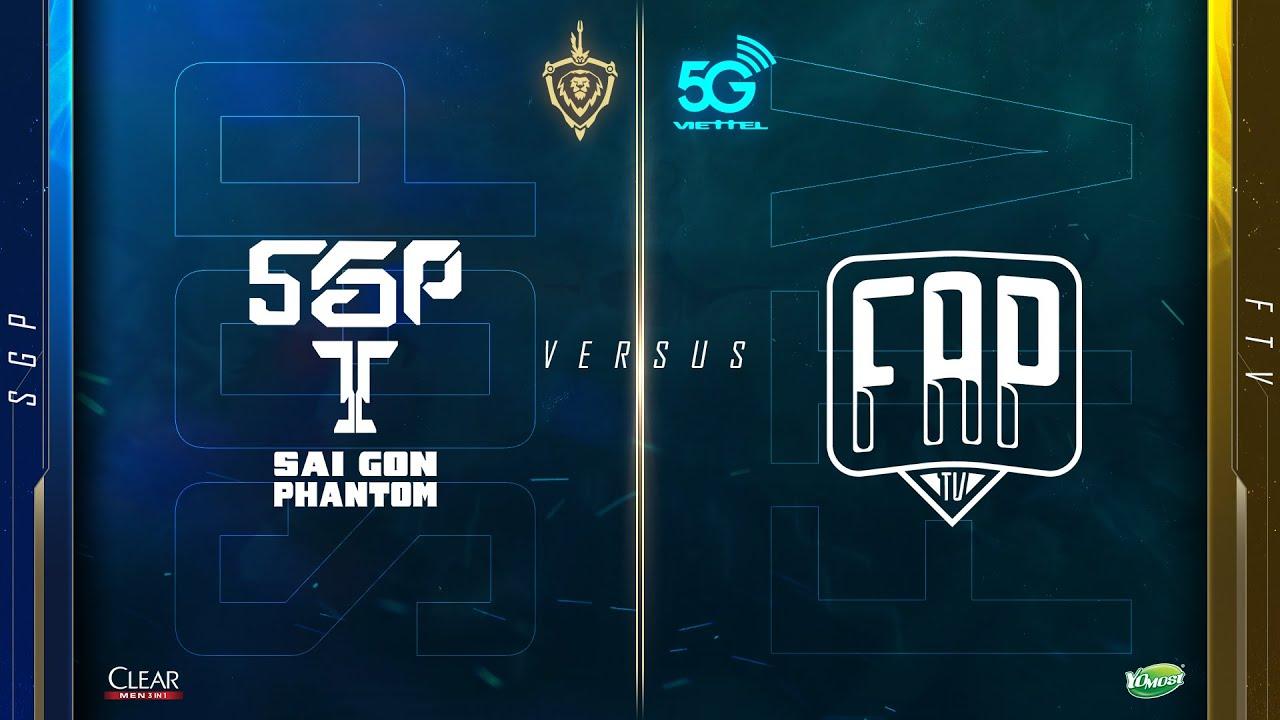 Saigon Phantom vs FAPtv [ Vòng 8 – 27.03 ] – Viettel 5G Đấu Trường Danh Vọng Mùa Xuân 2020