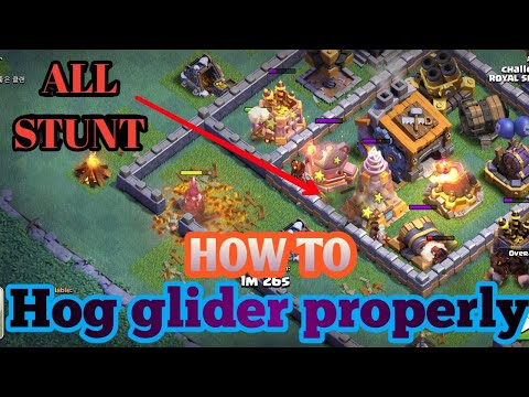 How to use Hog Glider properly in BH9 ! 3 STAR EVERY BASE😁