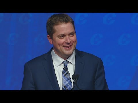 Andrew Scheer's victory speech to Conservatives