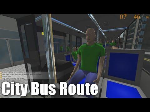 [Rigs Of Rods] Penguinville City Bus Route Script