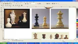 Уроки ArtCam. Поворт по оси   создание симметричных моделей CNC Profi. №2