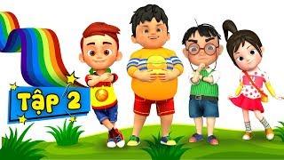 Không bỏ thừa đồ ăn - Kỹ năng sống cho bé qua bài hát thiếu nhi ♥ Phim hoạt hình thiếu nhi - Tập 2