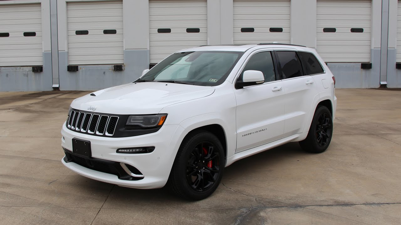 2015 Jeep Grand Cherokee SRT   Review In Detail, Start Up, Exhaust Sound,  And Test Drive   YouTube