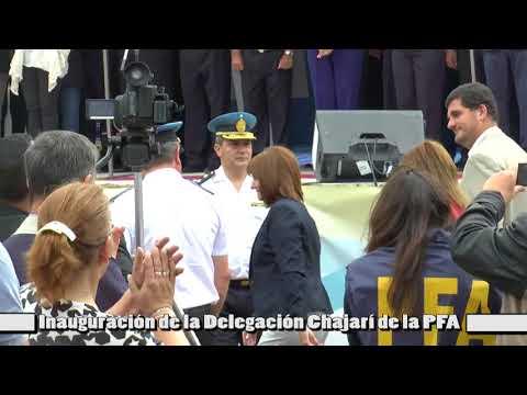 Inauguración de la Delegación Chajarí de la PFA