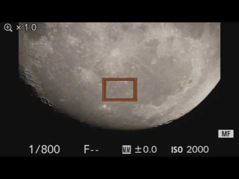 MOON TV LIVE - 11inch Scope - Waxing Gibbous 94.3 - Quick Stream - Aristarchus like never b4
