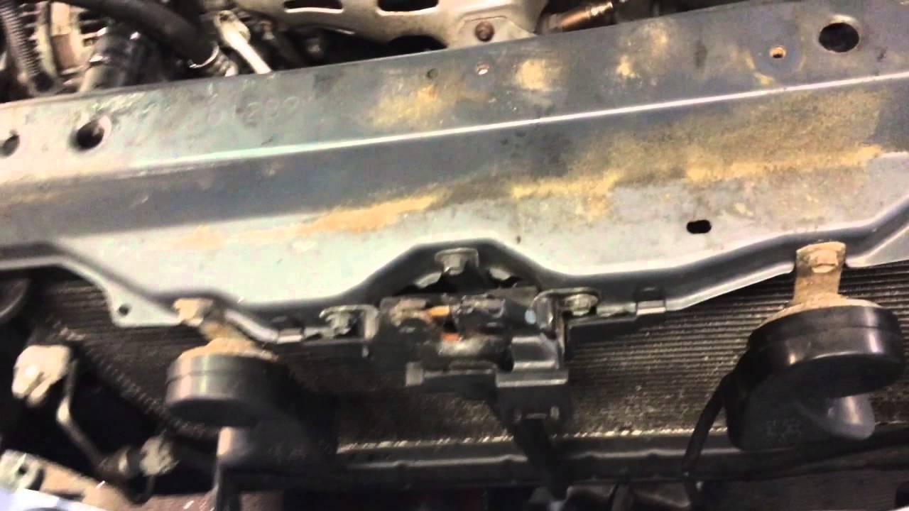 lexus es 330 front engine mount removal youtube Lexus ES300 Handle