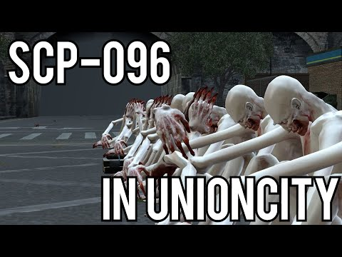 SCP-096 Experiments in RP_UNIONCITY! (Garry's Mod Gameplay) thumbnail