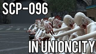 SCP-096 Experiments in RP_UNIONCITY! (Garry's Mod Gameplay)