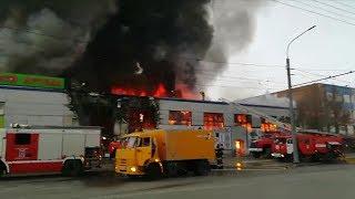 Пожар на вьетнамском рынке. Оренбург