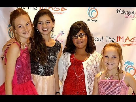 Kidz Bop Actress Carly Peeters, Cancer Survivor MaKenna  at Taylor Hay's Star For A Night