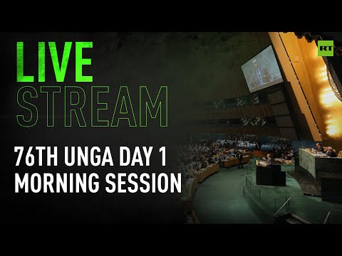 UNGA gathers for 1st day of high-level 76th session: morning