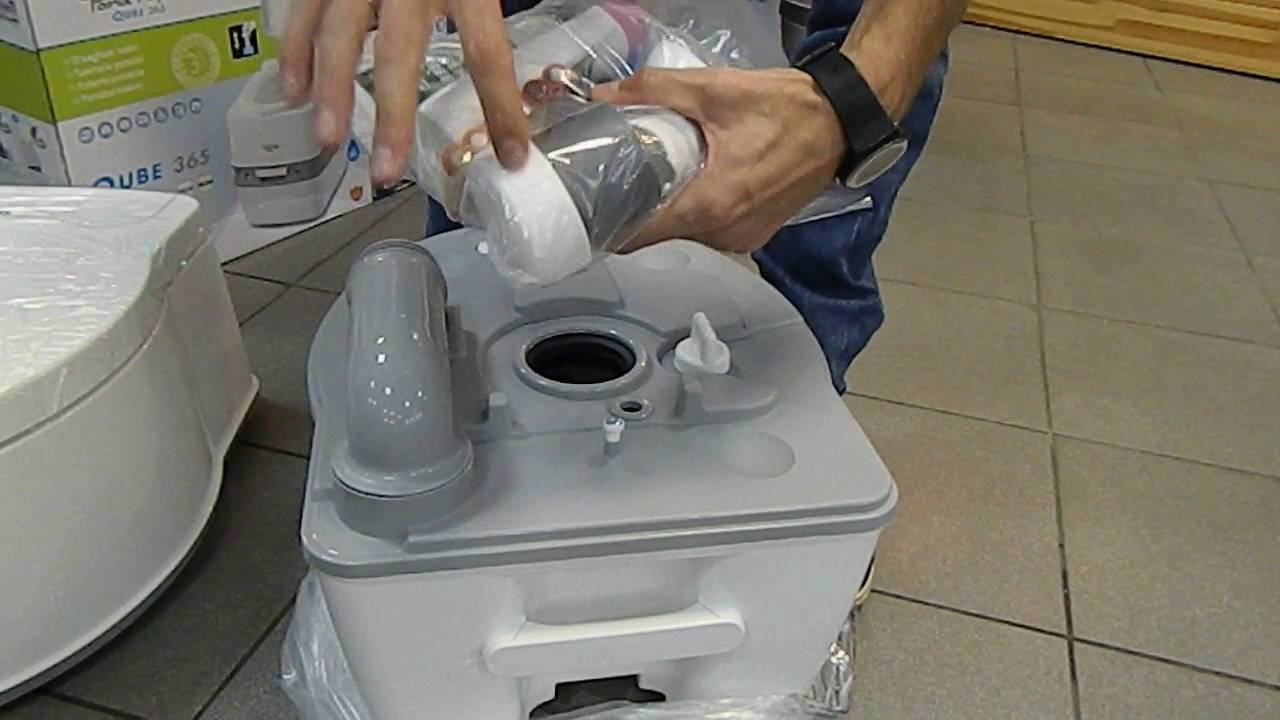 биотуалет thetford porta potti excellence 6400