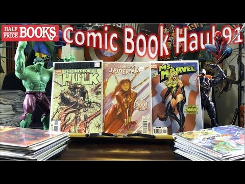 Half Price Books Comic Book Haul 91 | Hulk Smash!