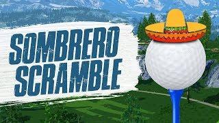 SOMBRERO SCRAMBLE! - Golf It (Funny Moments)
