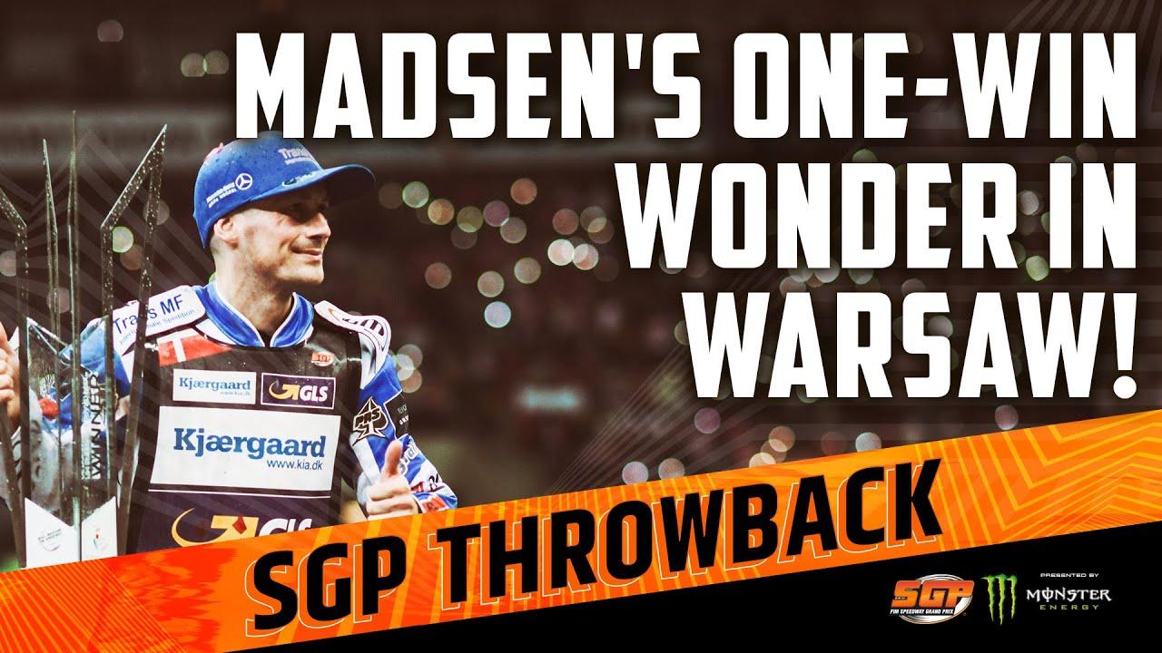 MADSEN'S ONE-WIN WONDER IN WARSAW! | FIM Speedway Grand Prix