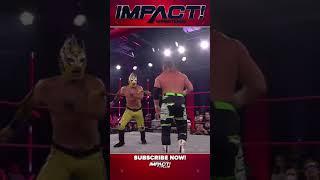 Laredo Kid vs. John Skyler - IMPACT September 16, 2021 #ImpactWrestling #shorts